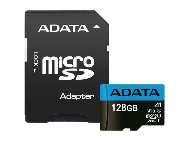 AData AUSDX128GUICL10A1-RA1 128GB microSDXC Card