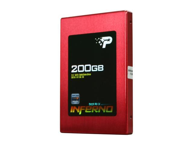 "Patriot Inferno 2.5"" 200GB SATA II MLC Internal Solid State Drive (SSD) PI200GS25SSDR"