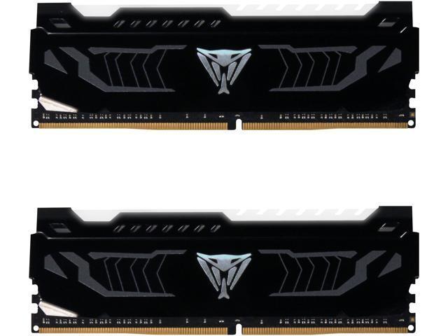 Patriot Viper LED 16GB (2 x 8GB) DDR4 3600MHz DRAM (Desktop Memory) CL16  1 35V White DIMM (288-pin) Extreme Performance PVLW416G360C6K (Intel XMP,  AMD