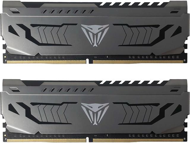 Patriot Viper Steel 16GB (2 x 8GB) 288-Pin DDR4 SDRAM DDR4 4133 (PC4 33000) Intel XMP 2.0 Desktop Memory Model ...