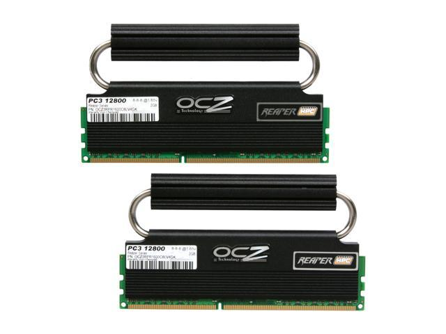 OCZ Reaper HPC Edition 4GB (2 x 2GB) 240-Pin DDR3 SDRAM DDR3 1600 (PC3 12800) Low Voltage Desktop Memory Model OCZ3RPR1600C8LV4GK