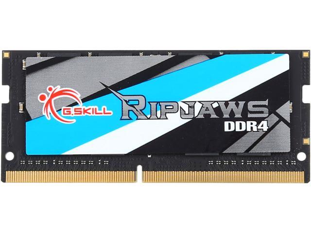 G.SKILL Ripjaws Series 16GB 260-Pin DDR4 SO-DIMM DDR4 2400 (PC4 19200) Laptop Memory Model F4-2400C16S-16GRS