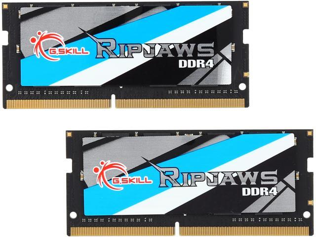 G SKILL Ripjaws Series 32GB (2 x 16GB) 260-Pin DDR4 SO-DIMM DDR4 2400 (PC4  19200) Laptop Memory Model F4-2400C16D-32GRS - Newegg com