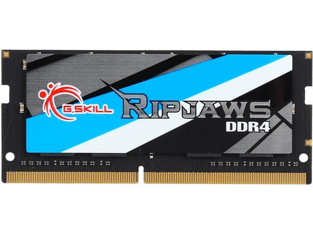 G.SKILL Ripjaws Series 16GB 260-Pin DDR4 SO-DIMM DDR4 2666 (PC4 21300) Laptop Memory Model F4-2666C18S-16GRS