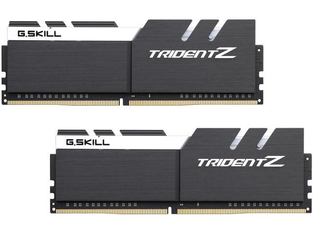 G.SKILL TridentZ Series 16GB (2 x 8GB) 288-Pin DDR4 SDRAM DDR4 4266 (PC4 34100) Intel Z270 / Z370 / X299 Memory (Desktop Memory) Model F4-4266C19D-16GTZKW