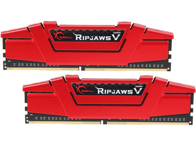 G.SKILL Ripjaws V Series 16GB (2 x 8GB) 288-Pin DDR4 SDRAM DDR4 3600 (PC4 28800) Desktop Memory Model F4-3600C19D-16GVRB