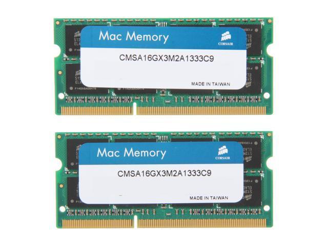 8deeab9f CORSAIR 16GB (2 x 8GB) DDR3 1333 (PC3 10600) Memory for Apple Model  CMSA16GX3M2A1333C9