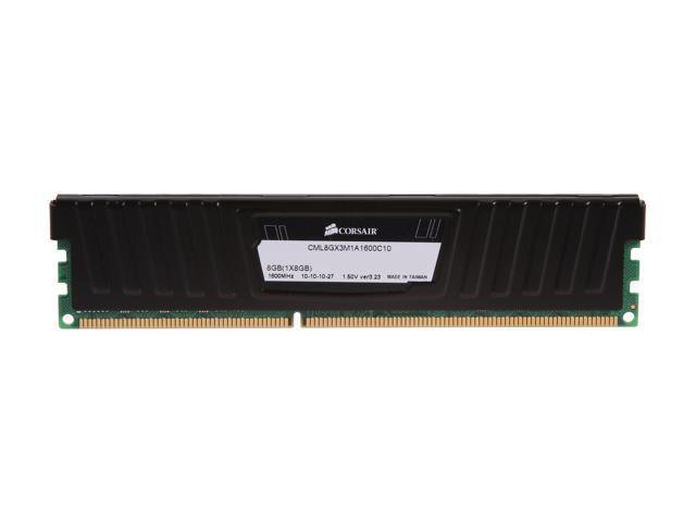 CORSAIR Vengeance LP 8GB 240-Pin DDR3 SDRAM DDR3 1600 (PC3 12800) Desktop  Memory Model CML8GX3M1A1600C10 - Newegg com