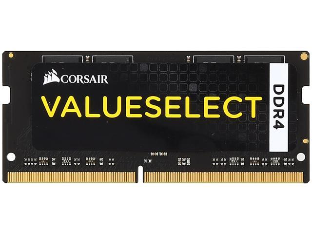 CORSAIR ValueSelect 4GB 260-Pin DDR4 SO-DIMM DDR4 2133 (PC4 17000) Laptop Memory Model CMSO4GX4M1A2133C15