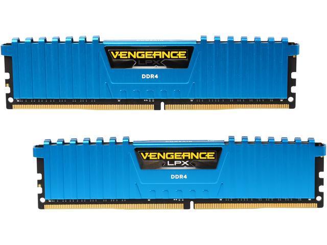 CORSAIR Vengeance LPX 16GB (2 x 8GB) 288-Pin DDR4 SDRAM DDR4 3000 (PC4  24000) Desktop Memory Model CMK16GX4M2B3000C15B - Newegg com