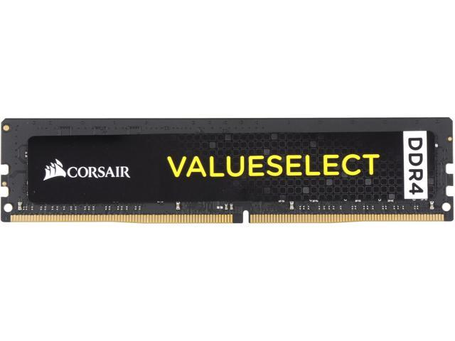 CORSAIR ValueSelect 16GB 288-Pin DDR4 SDRAM 2400 (PC4-19200) Desktop Memory Model CMV16GX4M1A2400C16 Intel 7th Gen and AMD Ryzen Ready