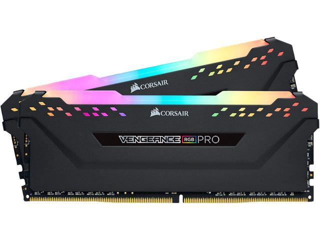 CORSAIR Vengeance RGB Pro 16GB (2 x 8GB) 288-Pin DDR4 SDRAM DDR4 3600 (PC4 28800) Intel XMP 2.0 Desktop Memory Model ...