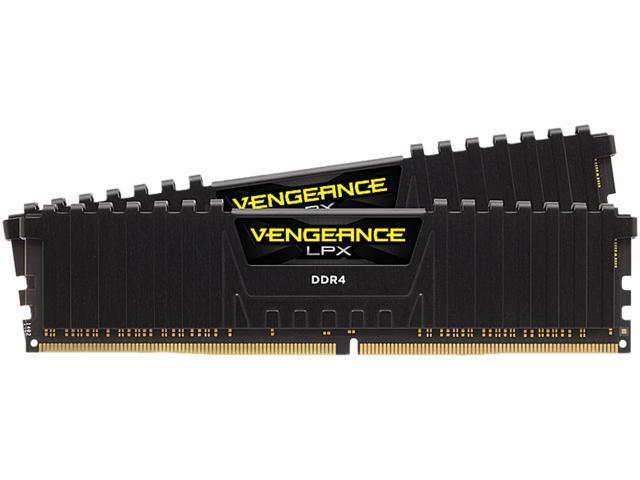 CORSAIR Vengeance LPX 64GB (2 x 32GB) 288-Pin DDR4 SDRAM DDR4 3600 (PC4 28800) Desktop Memory Model CMK64GX4M2D3600C18