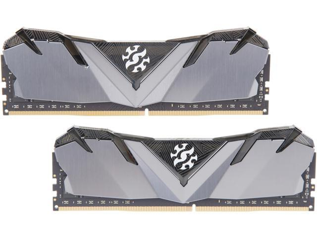 XPG GAMMIX D30 16GB (2 x 8GB) 288-Pin DDR4 SDRAM DDR4 3000 (PC4 24000) Intel XMP 2.0 Desktop Memory Model ...