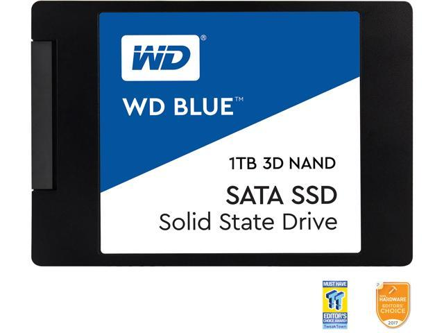 Western Digital Blue 3D NAND 1TB PC SSD - Gb/s 2.5