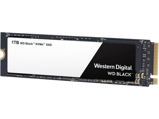 WD Black NVMe SSD (1TB)