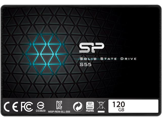 "Silicon Power S55 2.5"" 120GB SATA III TLC Internal Solid State Drive (SSD) SP120GBSS3S55S25AC"