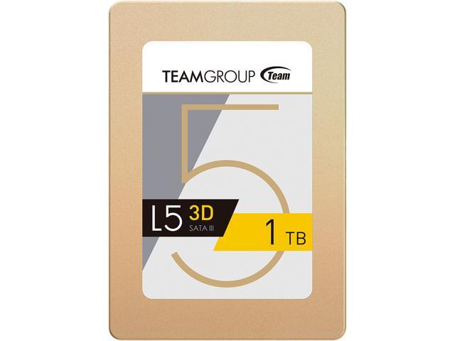 "Team Group L5 3D 2.5"" 1TB SATA III 3D NAND Internal Solid State Drive (SSD) T253TD001T3C101"