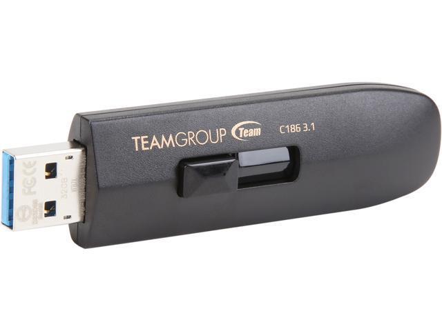 4fffcc79851 Team Group 64GB C186 USB 3.1 Flash Drive (TC186364GB01 ...