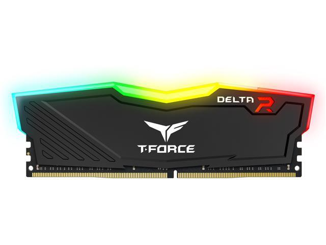 Team T-Force Delta RGB 16GB (2 x 8GB) 288-Pin DDR4 SDRAM DDR4 3200 (PC4 25600) Desktop Memory Model TF3D416G3200HC16CDC01