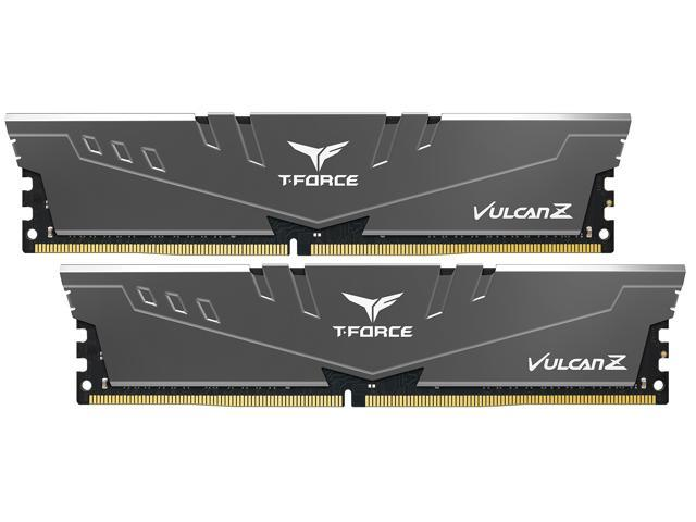 Team T-FORCE VULCAN Z 16GB (2 x 8GB) 288-Pin DDR4 SDRAM DDR4 3000 (PC4 24000) Desktop Memory Model TLZGD416G3000HC16CDC01