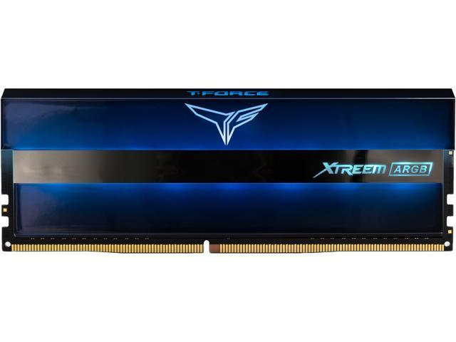Team T-Force XTREEM ARGB 16GB (2 x 8GB) 288-Pin DDR4 SDRAM DDR4 3200 (PC4 25600) Desktop Memory Model ...