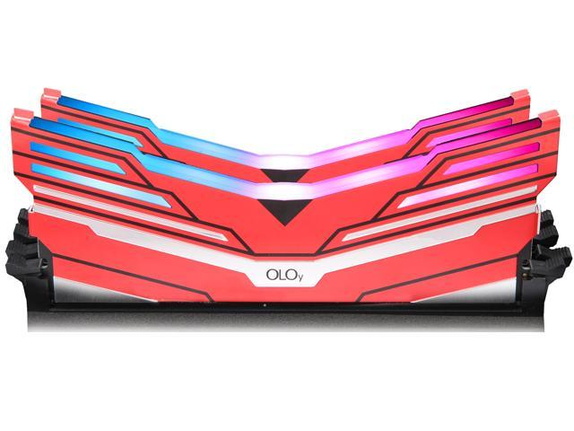 OLOy WarHawk RGB  DDR4 3600 (PC4 28800) 16GB (2 x 8GB) 288-Pin Intel/AMD Ready Desktop Memory Model MD4U083618BCDA