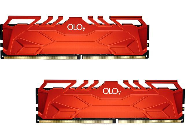 OLOy 32GB (2 x 16GB) 288-Pin DDR4 SDRAM DDR4 3000 (PC4 24000) Desktop Memory Model MD4U163016CFDA