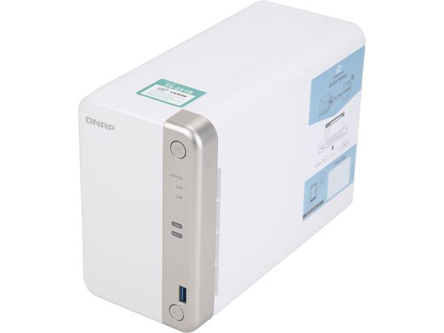 QNAP Bay Home/SOHO NAS with PCIe Expansion (4GB RAM Version)  (TS-251B-4G-US) - Newegg com