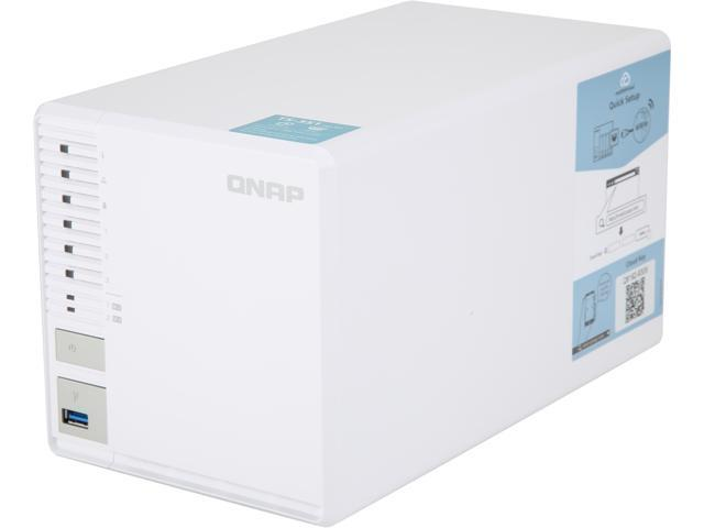 QNAP TS-351 (2GB RAM) 3-Bay Personal Cloud NAS Ideal for RAID5 Storage Processors (TS-351-2G-US)