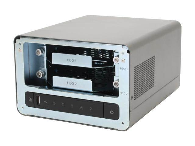 QNAP TS-209 Diskless System All-in-one NAS Server for SOHO and Home Users -  Newegg com