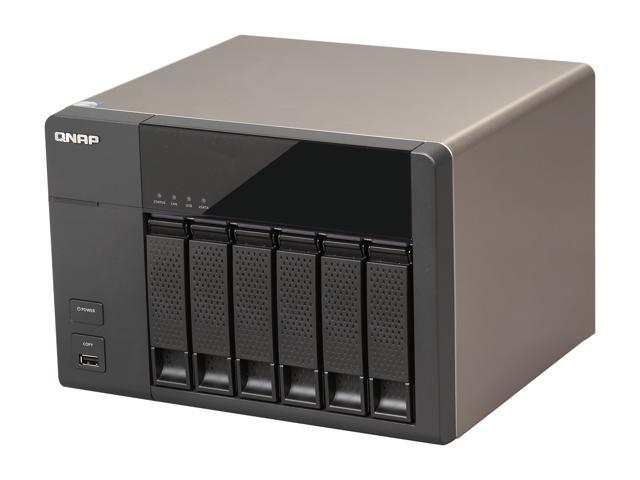 QNAP TS-669L-US Diskless System High-performance 6-bay NAS Server for SMBs  - Newegg com