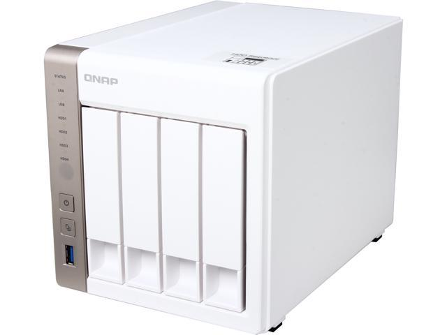 QNAP TS-451-US 4-Bay Personal Cloud NAS with HDMI output, DLNA, AirPlay and  PLEX Support,Intel 2 41GHz Dual Core CPU with Media Transcoding -