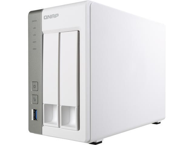 QNAP TS-231P-US 2-bay Personal Cloud NAS with DLNA, Mobile Apps and AirPlay  Support  ARM Cortex A15 1 7 GHz Dual Core, 1GB RAM - Newegg com