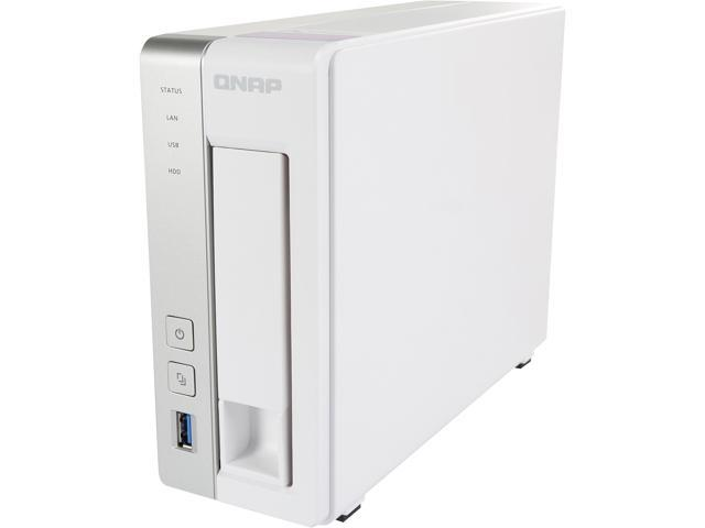 QNAP TS-131P 1-bay Personal Cloud NAS with DLNA, Mobile Apps and AirPlay  Support  ARM Cortex A15 1 7 GHz Dual Core, Chromecast Support - Newegg com