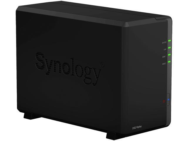 Synology DS216play Diskless System Network Storage