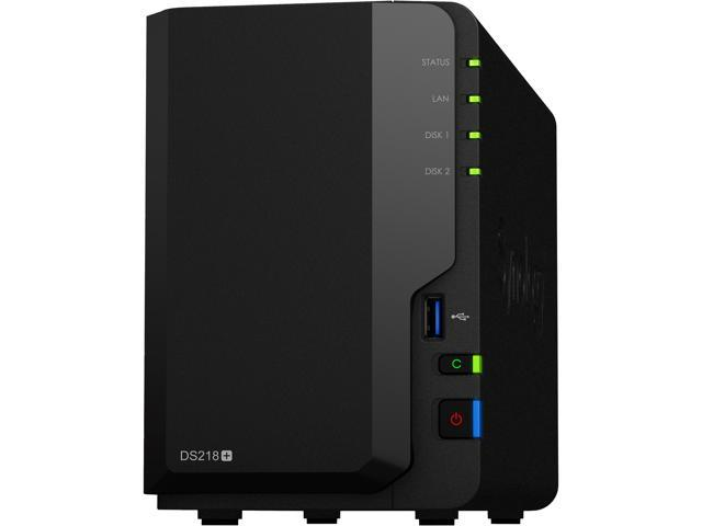 Synology 2 Bay NAS DiskStation DS218+ (Diskless) - Newegg com