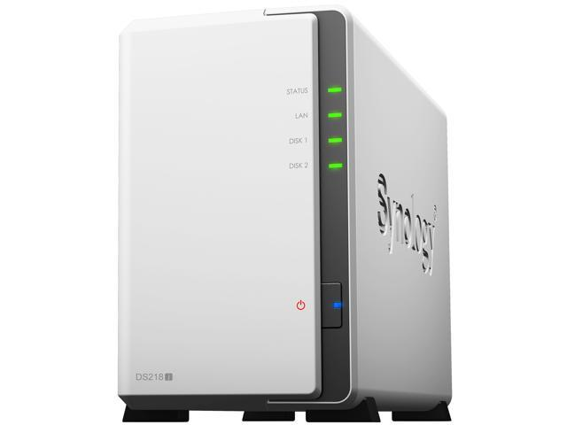 Synology 2 bay NAS DiskStation DS218j (Diskless) - Newegg com