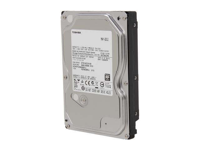 TOSHIBA DT01ACA100 1TB 7200 RPM 32MB Cache SATA 6.0Gb/s 3.5