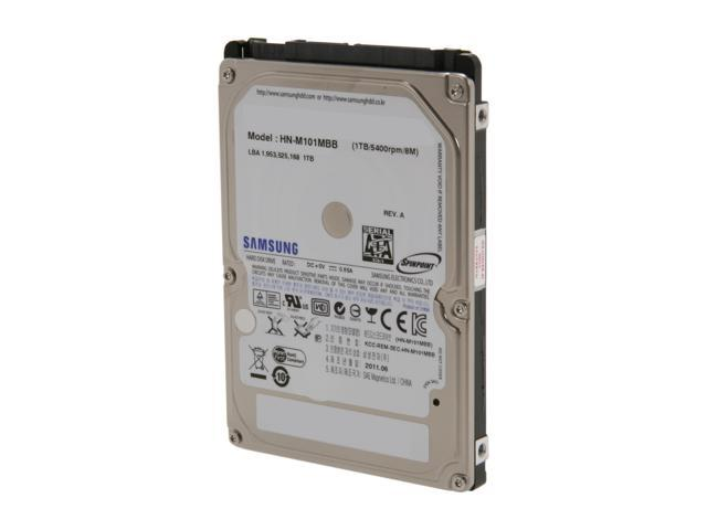 Seagate Samsung Spinpoint M8 ST1000LM024 HN M101MBB EX2 1TB 5400 RPM 8MB Cache SATA 60Gb S 25 Internal Notebook Hard Drive Bare