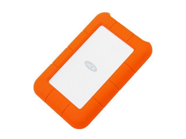 2fb8ee4f9dde LaCie 1TB Rugged Mini External Hard Drive USB 3.0 Model LAC301558 Orange