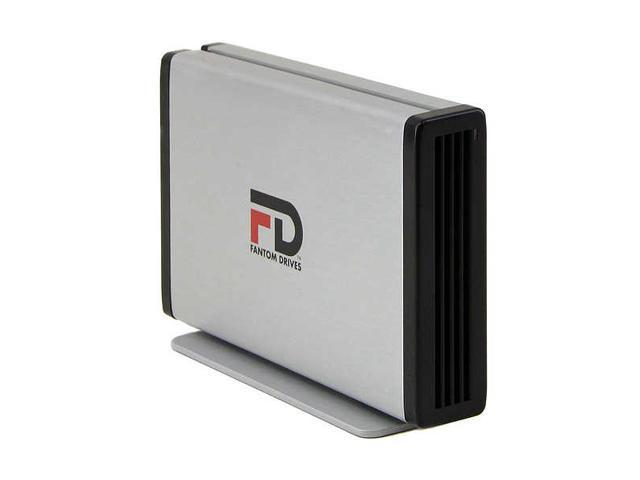"Fantom Drives Titanium 200GB USB 2.0 3.5"" External Hard Drive TFDU20072"