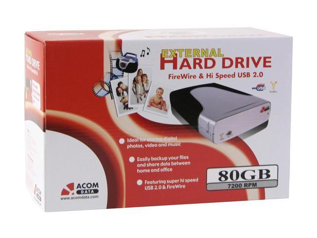 ACOMDATA HD080U2FE-72 64BIT DRIVER