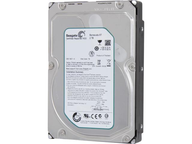 Seagate Barracuda XT 2 TB 7200RPM 64MB Cache 3.5-Inch Bare Drive ST32000641AS