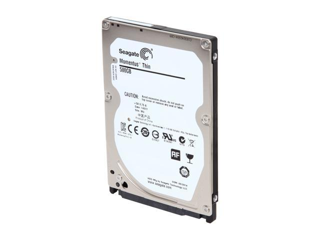 Seagate Laptop Thin ST500LM021 500GB 7200 RPM 32MB Cache SATA 6.0Gb