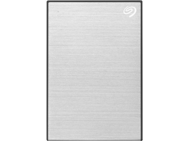 Seagate 2TB Backup Plus Slim Portable External Hard Drive USB 3.0 STHN2000401 Silver + 1Yr Mylio Create + 2MO Adobe CC Photography