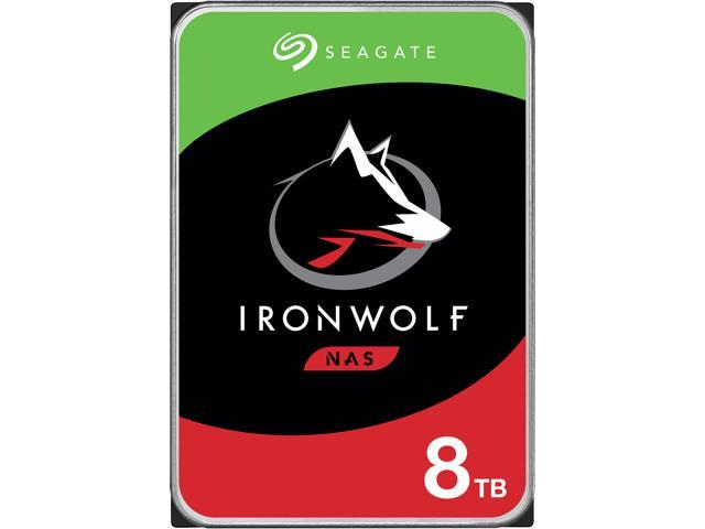 "Seagate IronWolf ST8000VN004 8TB 7200 RPM 256MB Cache SATA 6.0Gb/s 3.5"" Internal Hard Drive"