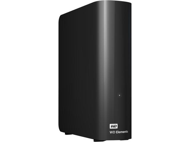 WD Elements 6TB USB 3.0 Desktop Hard Drive Black WDBWLG0060HBK-NESN