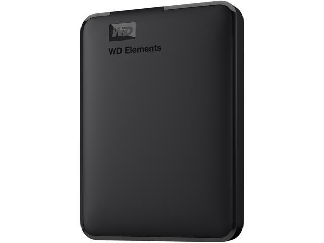 WD WDBU6Y0040BBK-WESN 4TB Elements USB 3.0 High-Capacity Portable Hard Drive for Windows