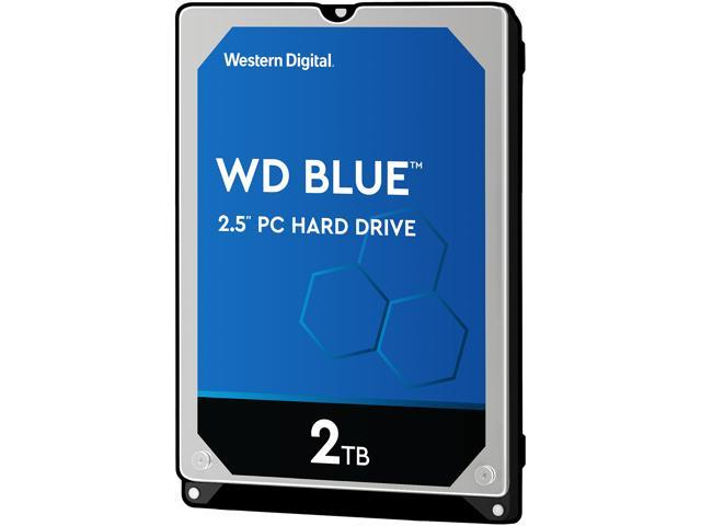 "WD Blue WD20SPZX 2TB 5400 RPM 128MB Cache SATA 6.0Gb/s 2.5"" Internal Notebook Hard Drive"